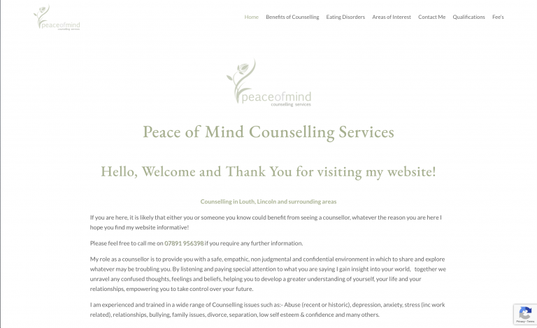 Peace of Mind Counselling