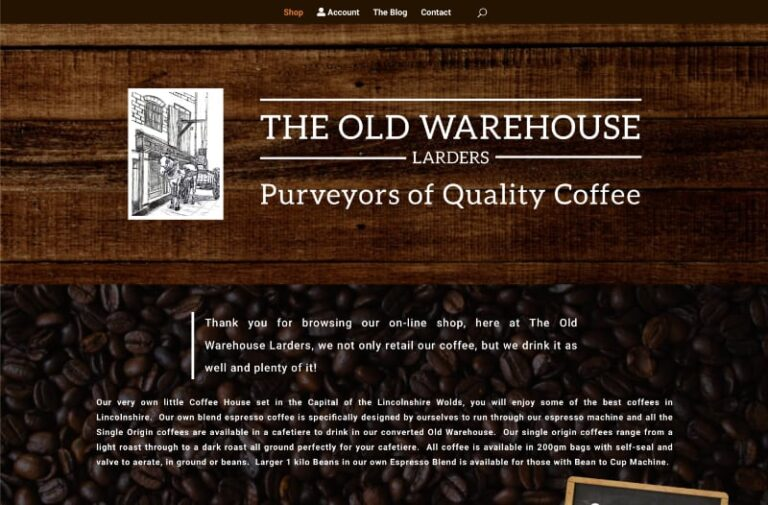 Larders – The Old Warehouse – Louth
