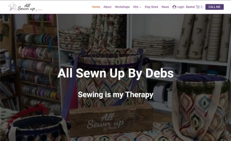 All Sewn Up By Debs